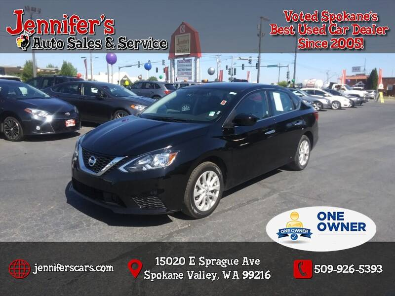 2019 Nissan Sentra for sale at Jennifer's Auto Sales in Spokane Valley WA