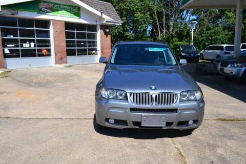 2008 BMW X3 for sale at RODRIGUEZ MOTORS LLC in Fredericksburg VA