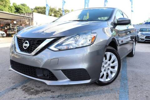 2019 Nissan Sentra for sale at OCEAN AUTO SALES in Miami FL