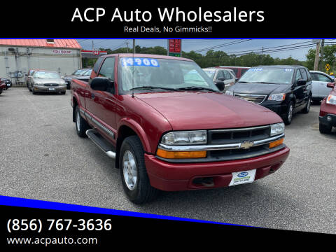 2001 Chevrolet S-10 for sale at ACP Auto Wholesalers in Berlin NJ