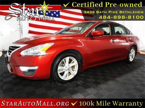 2013 Nissan Altima for sale at STAR AUTO MALL 512 in Bethlehem PA
