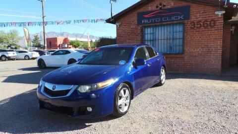 2010 Acura TSX for sale at Auto Click in Tucson AZ