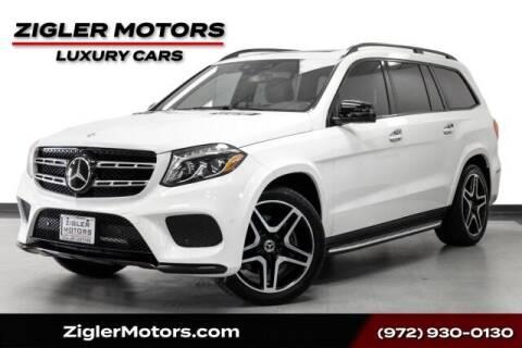 2018 Mercedes-Benz GLS for sale at Zigler Motors in Addison TX