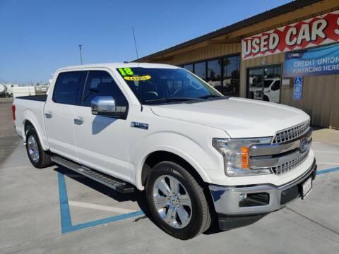 2018 Ford F-150 for sale at California Motors in Lodi CA