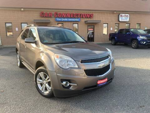 2012 Chevrolet Equinox for sale at CAR CONNECTIONS in Somerset MA