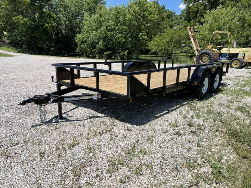 "2021 GRtrailers 82""x18' 7k Utility/ Hauler for sale at Bailey Auto in Pomona KS"