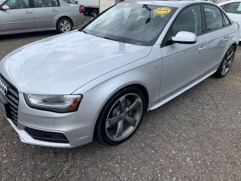 2014 Audi A4 for sale at CHRISTIAN AUTO SALES in Anoka MN