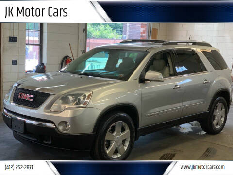 2008 GMC Acadia for sale at JK Motor Cars in Pittsburgh PA