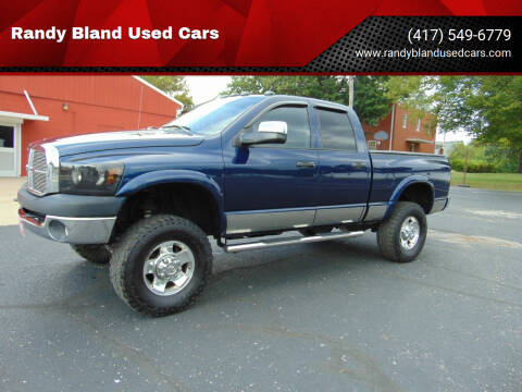 2006 Dodge Ram Pickup 2500 for sale at Randy Bland Used Cars in Nevada MO