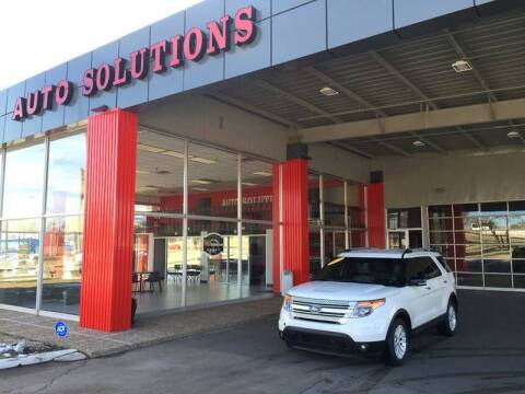 2012 Ford Explorer for sale at Auto Solutions in Warr Acres OK