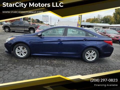 2014 Hyundai Sonata for sale at StarCity Motors LLC in Garden City ID
