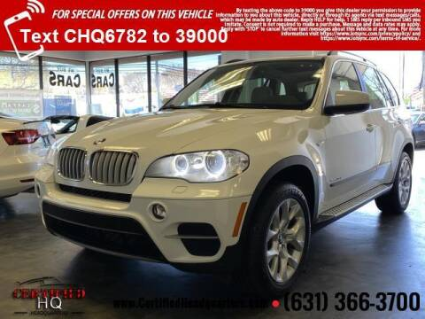 2013 BMW X5 for sale at CERTIFIED HEADQUARTERS in St James NY