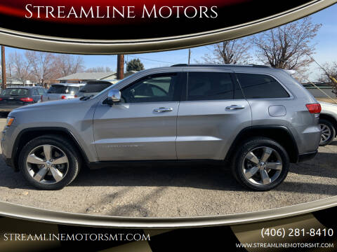 2015 Jeep Grand Cherokee for sale at Streamline Motors in Billings MT
