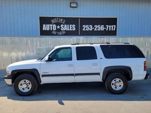 2001 Chevrolet Suburban for sale at Austin's Auto Sales in Edgewood WA