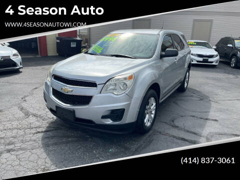 2011 Chevrolet Equinox for sale at 4 Season Auto in Milwaukee WI