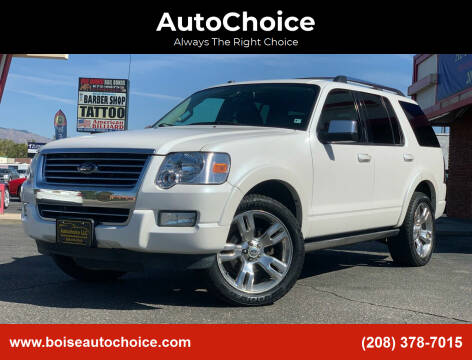 2010 Ford Explorer for sale at AutoChoice in Boise ID