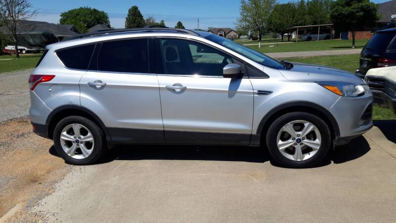 2015 Ford Escape for sale at Davis Motor Company in Durant OK