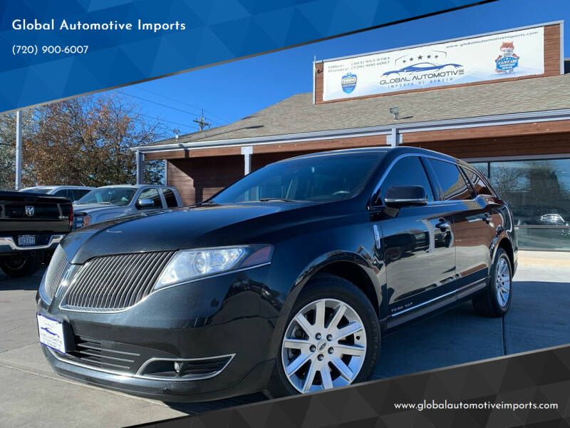 2014 Lincoln MKT Town Car for sale at Global Automotive Imports in Denver CO