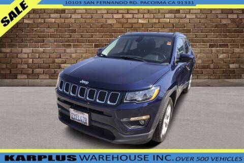 2017 Jeep Compass for sale at Karplus Warehouse in Pacoima CA