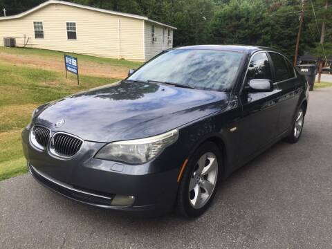 2008 BMW 5 Series for sale at ATLANTA AUTO WAY in Duluth GA