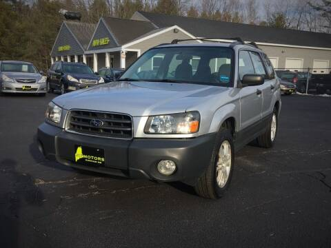 2005 Subaru Forester for sale at 207 Motors in Gorham ME