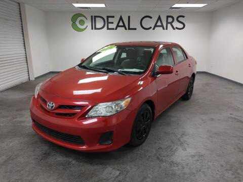 2013 Toyota Corolla for sale at Ideal Cars Atlas in Mesa AZ