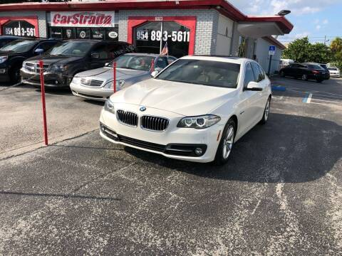 2015 BMW 5 Series for sale at CARSTRADA in Hollywood FL