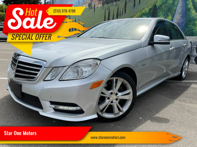 2012 Mercedes-Benz E-Class for sale at Star One Motors in Hayward CA