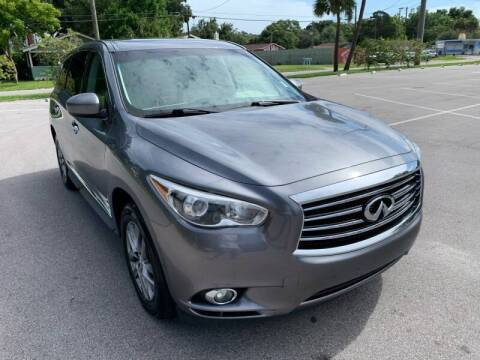 2015 Infiniti QX60 for sale at Consumer Auto Credit in Tampa FL