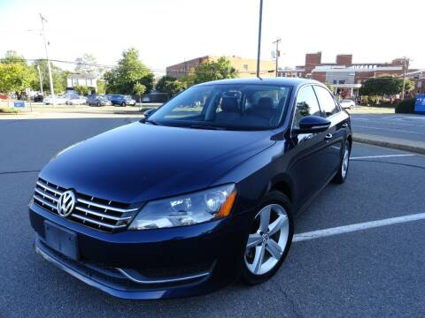 2012 Volkswagen Passat for sale at TJ Auto Sales LLC in Fredericksburg VA