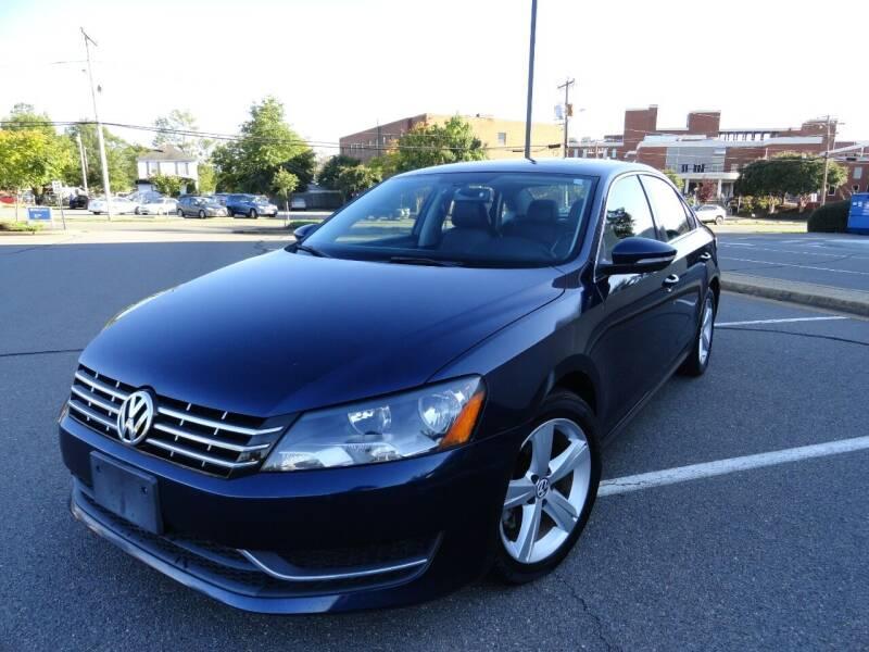 2012 Volkswagen Passat for sale at TJ Auto Sales LLC in Fredericksburg VA