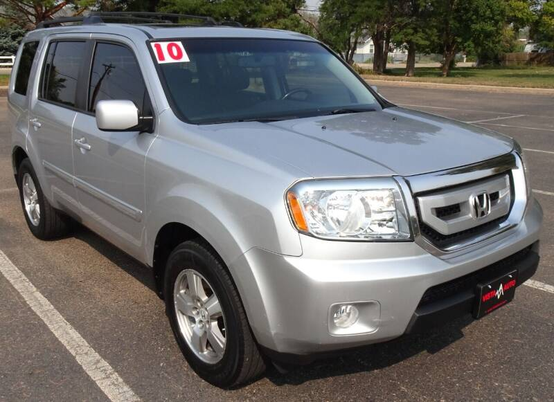 2010 Honda Pilot for sale at VISTA AUTO SALES in Longmont CO