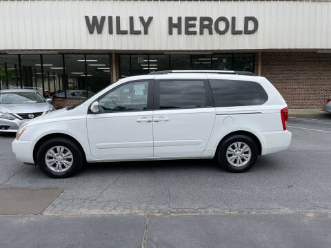 2012 Kia Sedona for sale at Willy Herold Automotive in Columbus GA