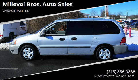 2007 Ford Freestar for sale at Millevoi Bros. Auto Sales in Philadelphia PA