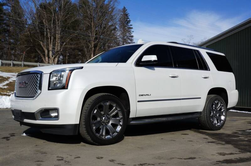 2016 GMC Yukon for sale at EuroMotors LLC in Lee MA