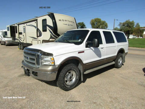 2002 Ford Excursion for sale at Scott Spady Motor Sales LLC in Hastings NE