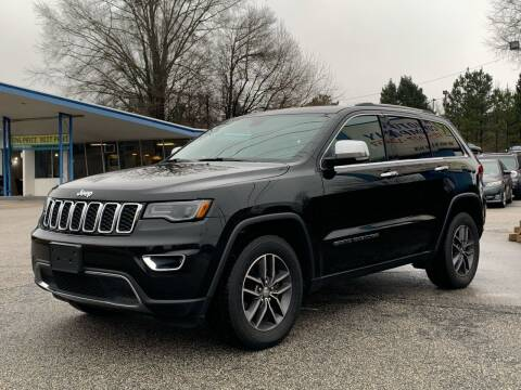 2017 Jeep Grand Cherokee for sale at GR Motor Company in Garner NC