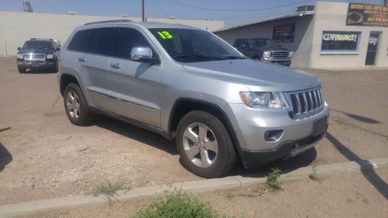 2013 Jeep Grand Cherokee for sale at Advantage Auto Motorsports in Phoenix AZ