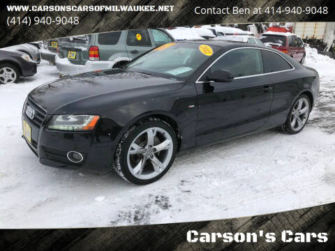 2012 Audi A5 for sale at Carson's Cars in Milwaukee WI