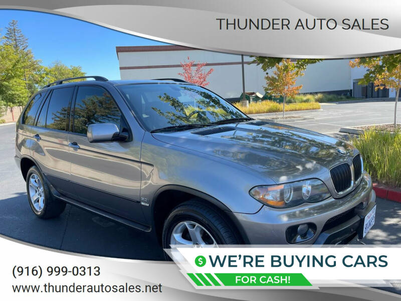 2005 BMW X5 for sale at Thunder Auto Sales in Sacramento CA