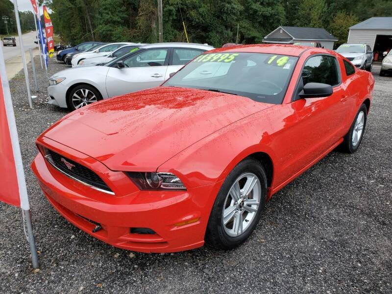 2014 Ford Mustang for sale at Let's Go Auto in Florence SC
