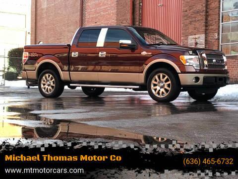 2010 Ford F-150 for sale at Michael Thomas Motor Co in Saint Charles MO