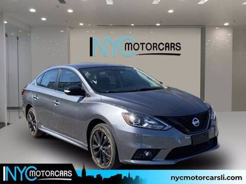 2018 Nissan Sentra for sale at NYC Motorcars in Freeport NY