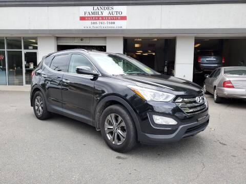 2014 Hyundai Santa Fe Sport for sale at Landes Family Auto Sales in Attleboro MA