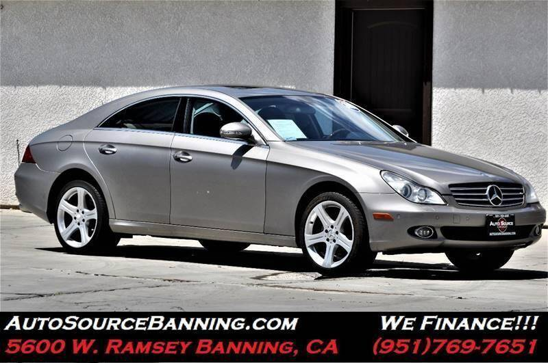 2006 Mercedes-Benz CLS for sale at Auto Source in Banning CA
