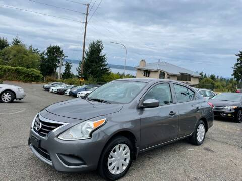 2018 Nissan Versa for sale at KARMA AUTO SALES in Federal Way WA
