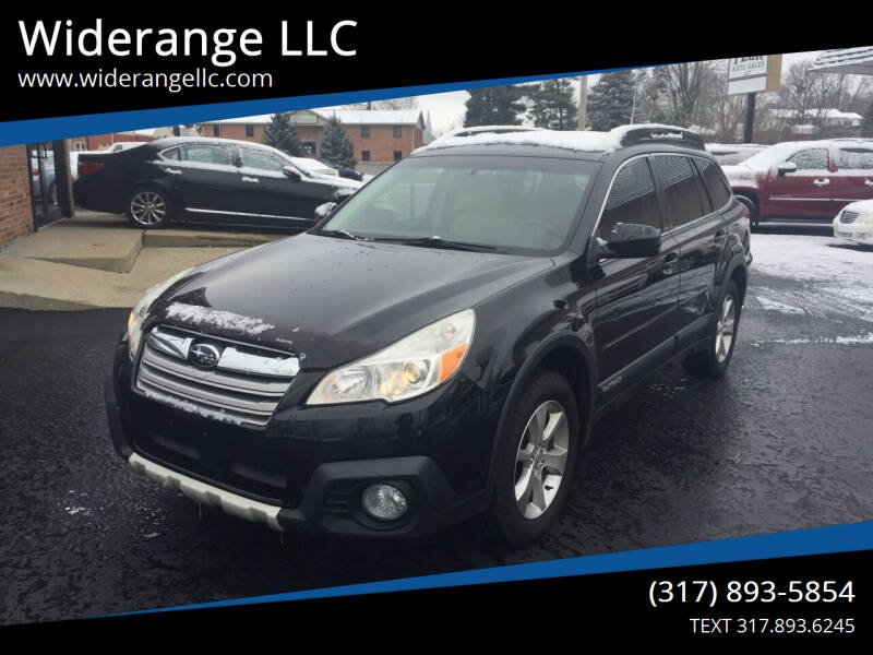 2013 Subaru Outback for sale at Widerange LLC in Greenwood IN