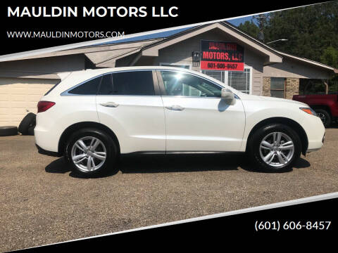 2013 Acura RDX for sale at MAULDIN MOTORS LLC in Sumrall MS