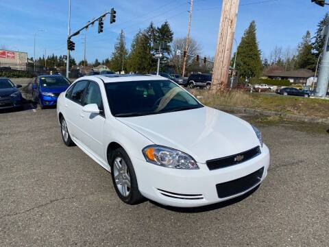 2015 Chevrolet Impala Limited for sale at KARMA AUTO SALES in Federal Way WA
