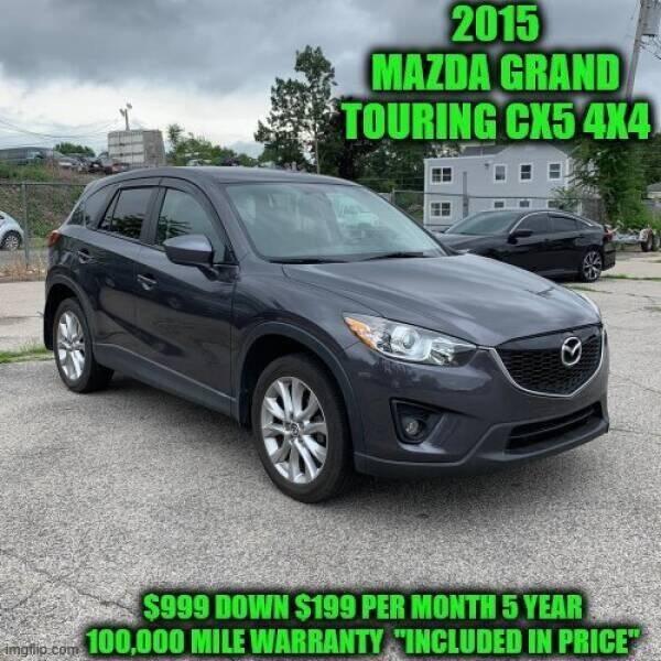2015 Mazda CX-5 for sale at D&D Auto Sales, LLC in Rowley MA